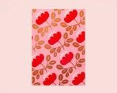 Blossom Gold Planner - Red Petal
