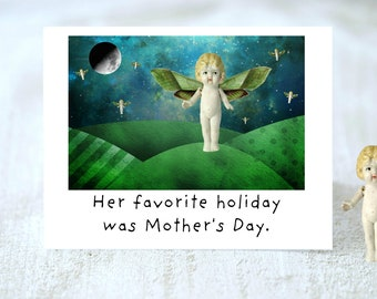 Mother's Day Was Her Favorite Adventures Claudia Mother Card