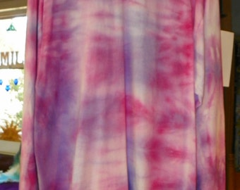 MC 11 04 Hand dyed 100 percent Cotton American Wear Long Sleeve Tee