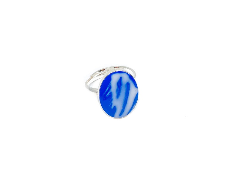Delft The Netherlands Delft Contemporary Ring Sterling Silver 001 Ready to be sent  Adjustable  Contemporary Jewelry