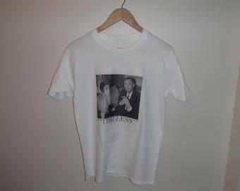 ALEXANDER McQUEEN Tshirt Print /Designer Mc Queen And Isabella Blow/ Timeless