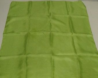 LIMEGREEN SILK SCARF Pop Of Colour For Summer