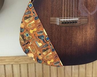 Guitar Ragtop, guitar protector, guitar cover, protection for guitar, guitar protection, Cotton cover, cotton guitar cover, acoustic guitar