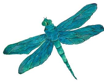 Dragonfly, png file, transparent png file, dragonflies, png, digital art, instant download, clipart, watercolor dragonfly, digital png