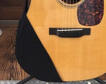 Guitar Ragtop, guitar protector, guitar cover, Solid Black