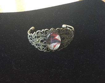 Adjustable Filgree Bracelet