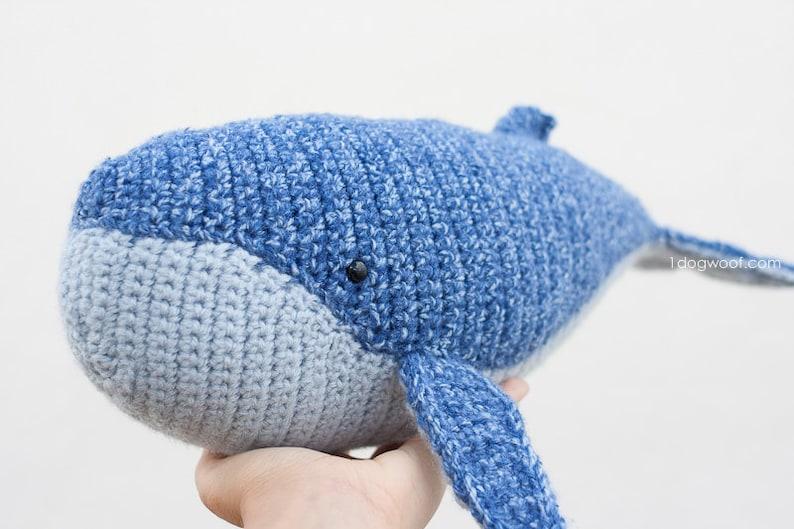 CROCHET PATTERN: Baby Humpback Whale Stuffed Animal image 0