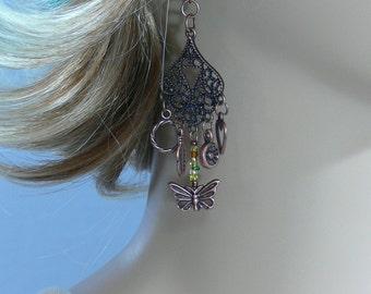 Copper Charm Earrings - FS-048