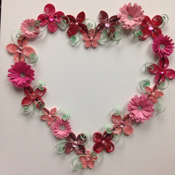 Wall Decoration Using Quilling Paper