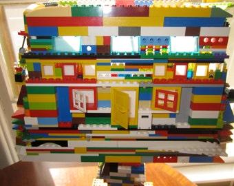 Lego lampshade etsy aloadofball Images
