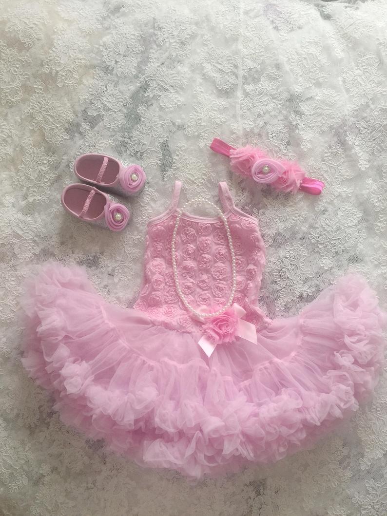 Toddler tutu dress Tutu dress Pink birthday outfit Baby girl 1st birthday outfit First birthday 2nd birthday outfit Baby tutu