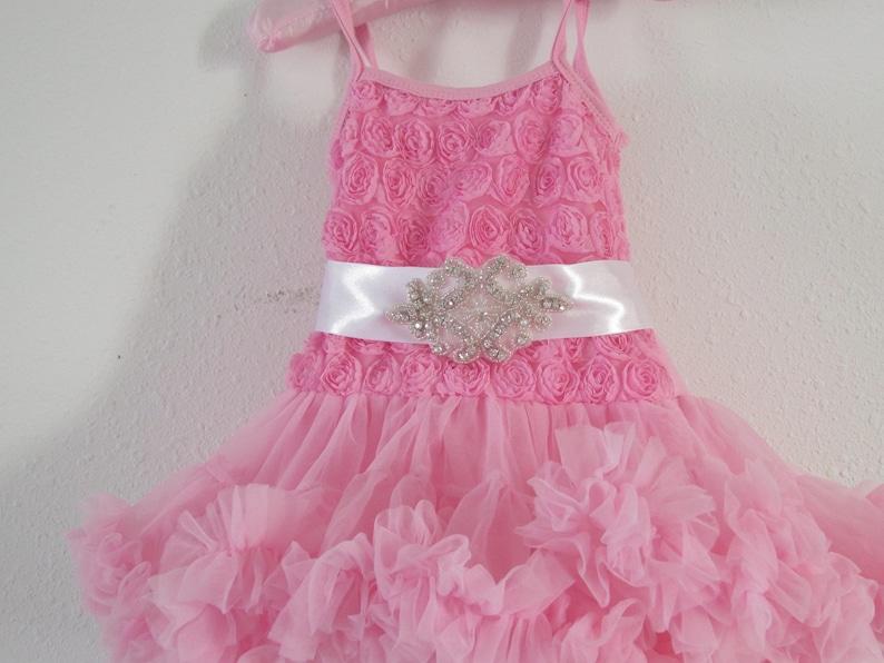 Baby tutu Toddler tutu dress Pink birthday outfit First birthday Baby girl 1st birthday outfit Tutu dress 2nd birthday outfit