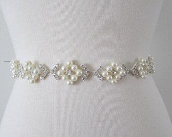 SALE Wedding Belt, Bridal Belt, Bridesmaid Belt, Bridesmaid Belt, Crystal Rhinestone, BS2034