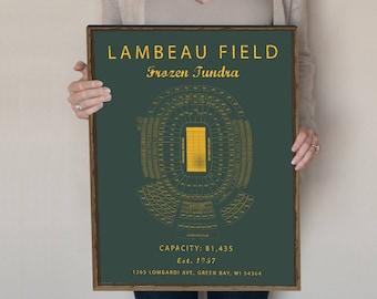 4c84f8d5e77d Lambeau Field Seating Chart
