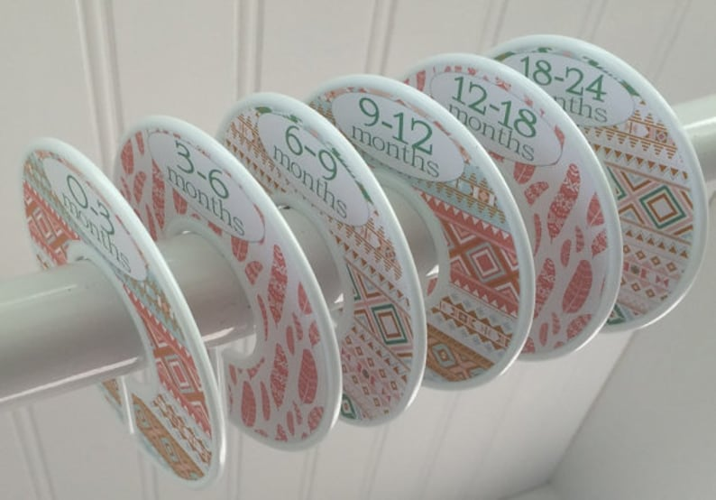 Baby Closet Dividers Organizers Clothes Dividers Baby Shower image 0