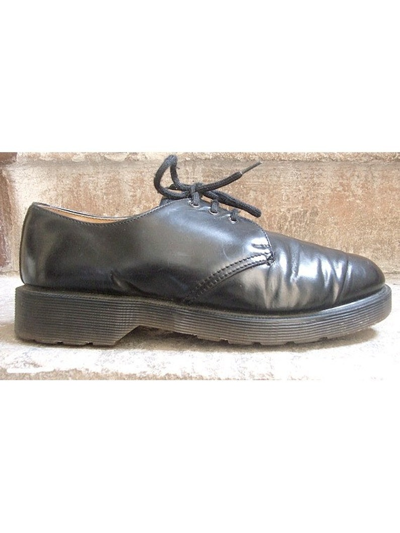 1990s authentic DOC MARTENS  black  low top oxford 90s english Doc Martens us5 euro36
