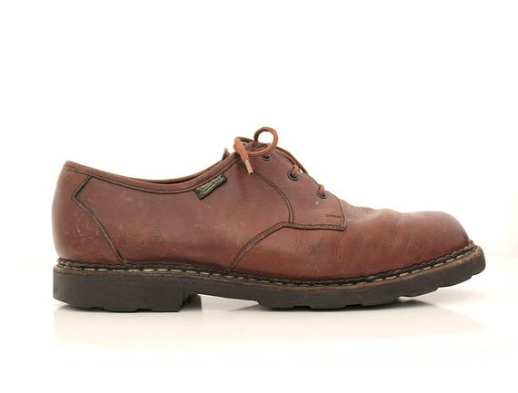 Paraboot brown leather Oxfords shoes  12.5 euro46