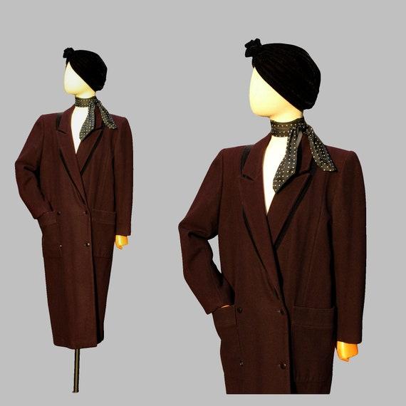 1980s Anastasia  by François Viannay wool oversize