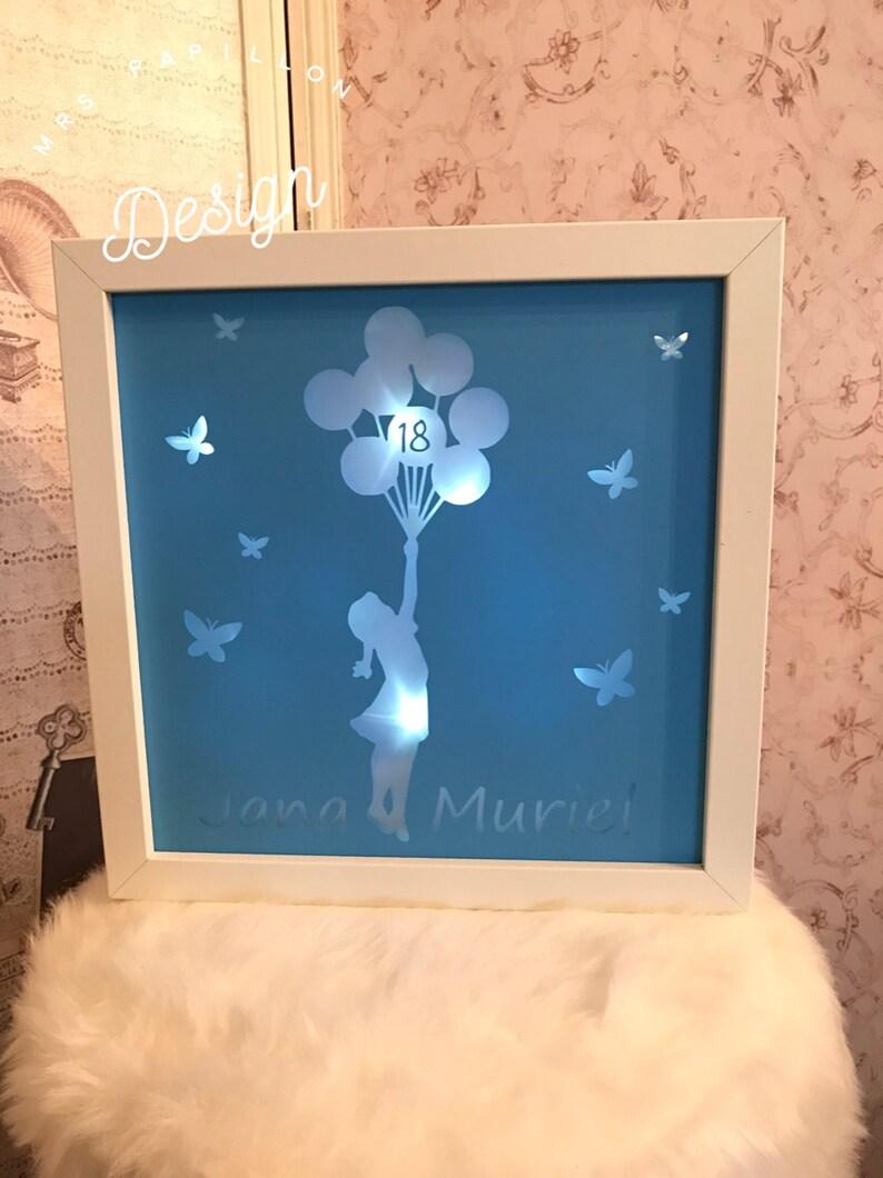 Light frame for 18th birthday image 0