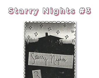 Perzine: Starry Nights 3
