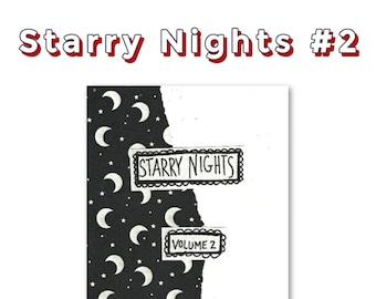 PERZINE: Starry Nights Volume 2 - A zine about life, lists, creativity, positivity