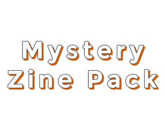 Mystery Package of Zines: A Surprise Zine Pack of Creativity, Inspiration, Writing, Art zines, and PenPal Zines for mail art and letter fans