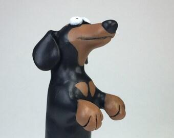 Dachshund Wiener Dog Sculpture