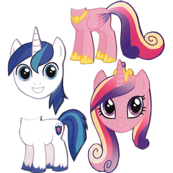 Mix And Match Magnets Shining Armor Princess Cadence My