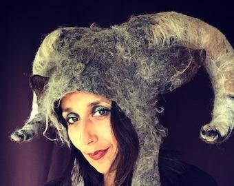 Where the Wild Things Are Capricorn Goat Headdress