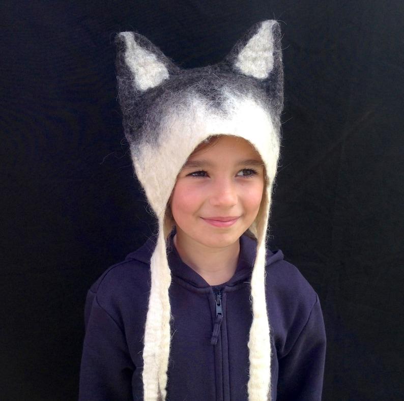 Wolf Costume Animal Headdress image 0