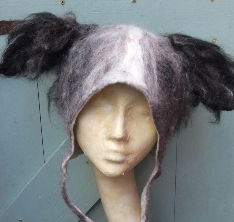 Personalised Dog Hair Portrait Hat image 0
