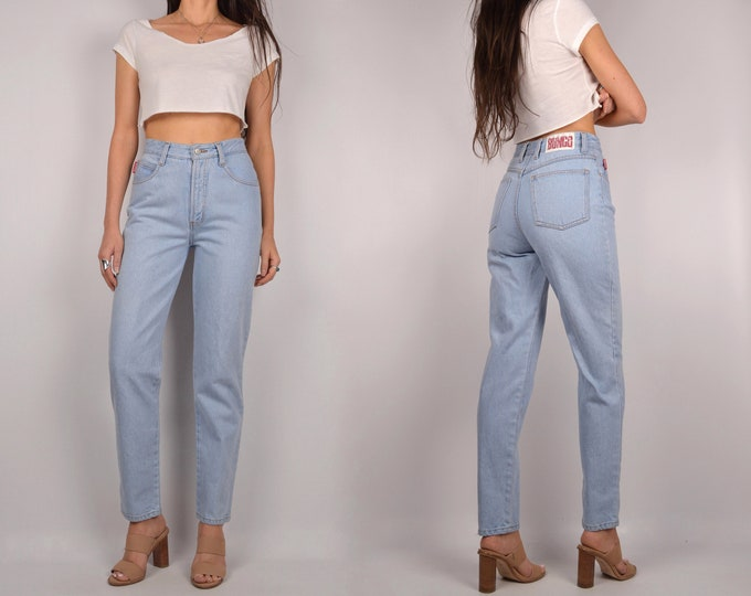 """Vintage BONGO Tapered Jeans / 26""""W High Waist"""