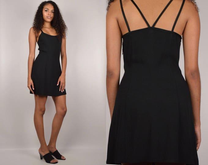 90's Guess Black Mini Dress / 6
