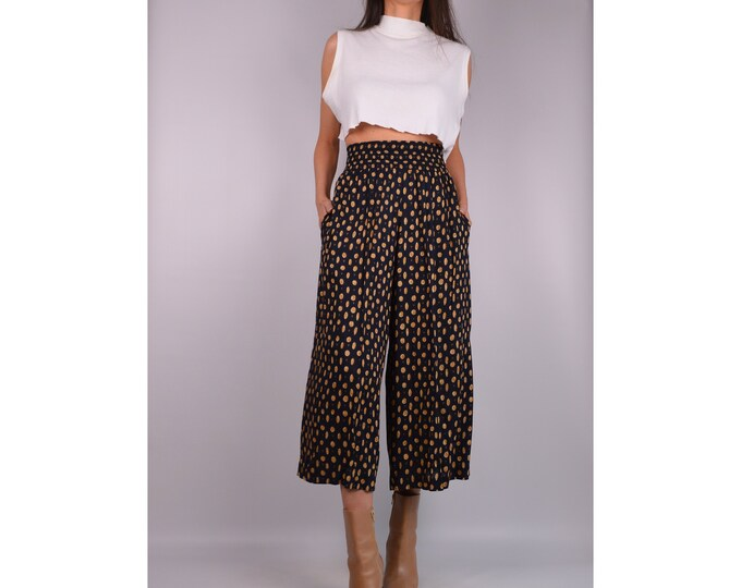 Vintage High Waist Culottes (S)