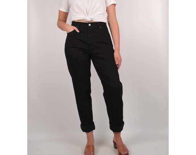 """SALE Vintage Black LEVI'S 550 / 29""""W High Waist Jeans"""