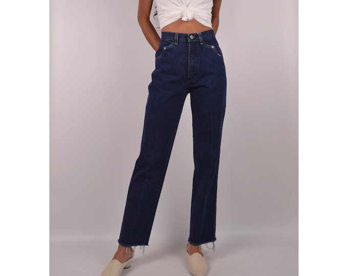 "SALE Vintage High Waist Cut-off Jeans / 25""W"