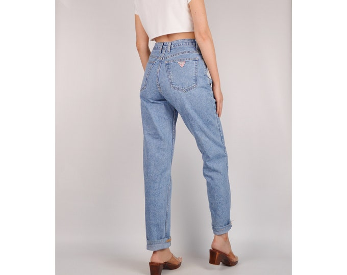 """Vintage GUESS High Waist Jeans (28""""W)"""
