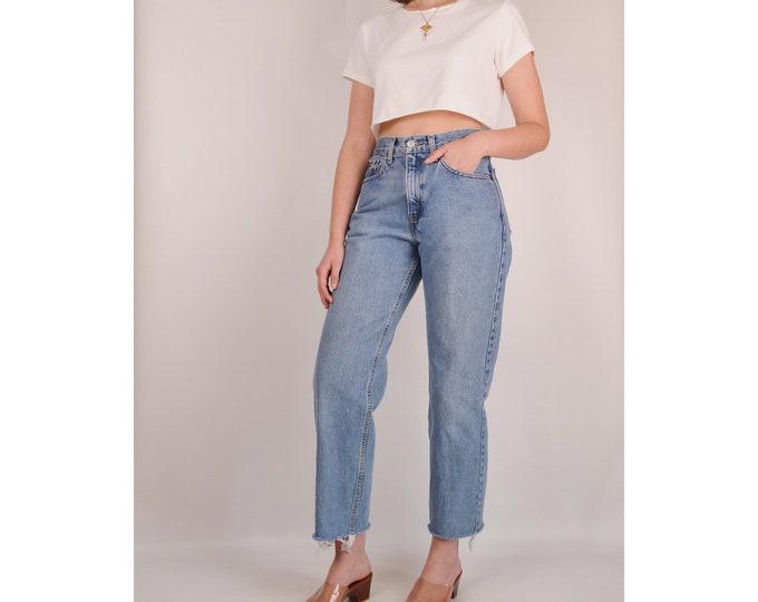 """Flash SALE! Vintage LEVI'S 560 Cut Off Jeans (28""""W)"""