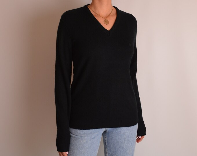 Vintage Softest V-neck Sweater (S-M)