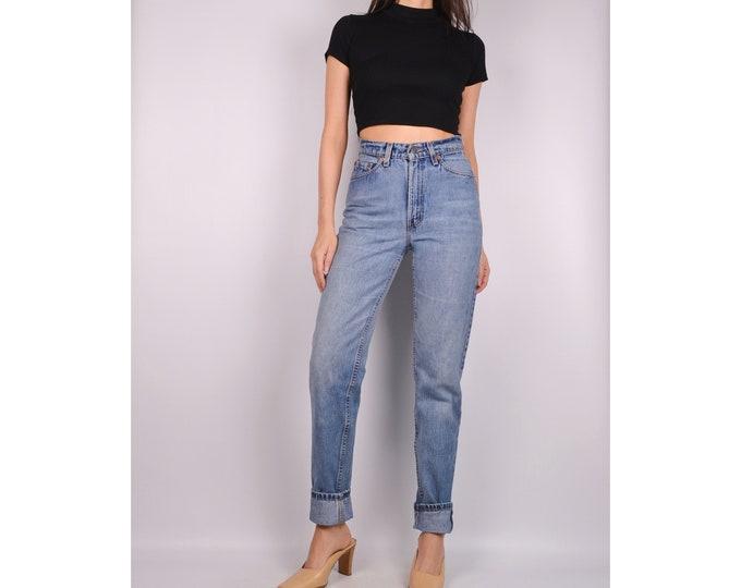 """Vintage LEVI'S 512 Slim Fit Jeans (27""""W)"""