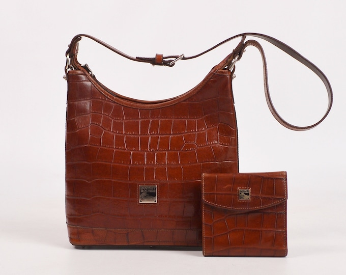 Vintage DOONEY & BOURKE Bayou Alligator Bag
