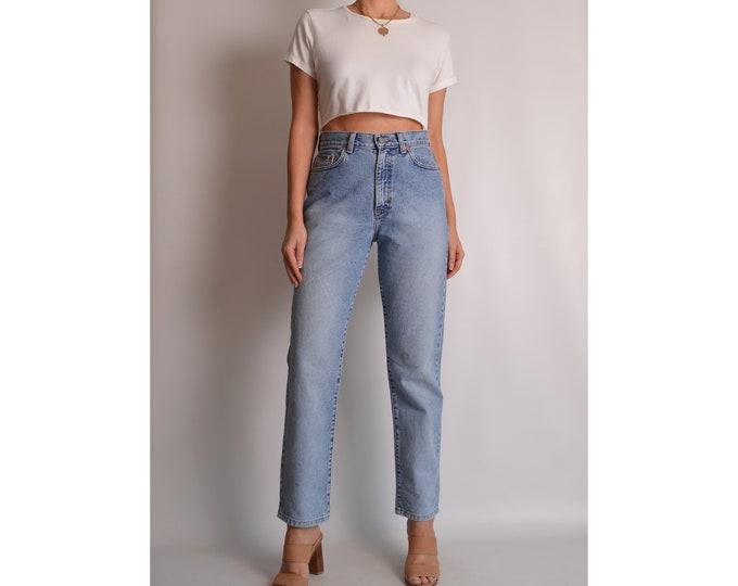 "Vintage CK Straight Leg Jeans (28""W) High Waist"