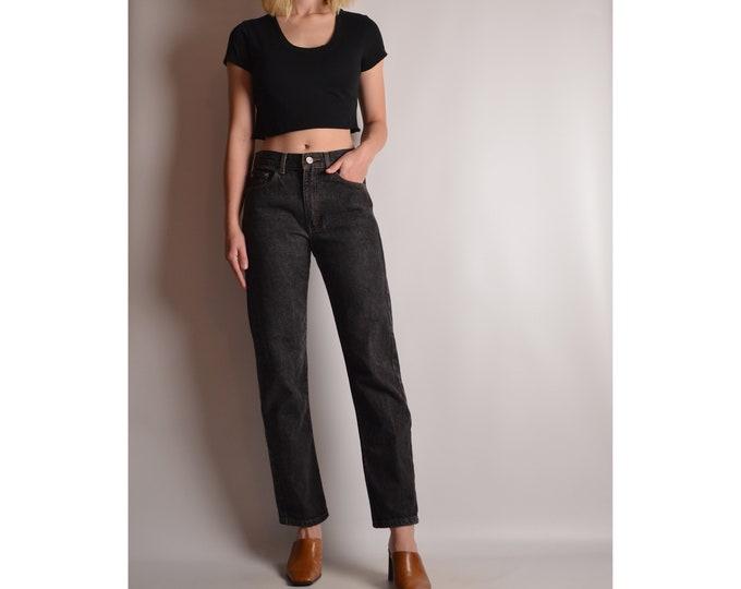 Vintage Calvin Klein Gray Jeans (Sz 4)