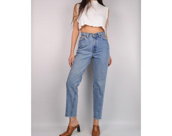 "Vintage LEVI'S 512 Slim Frayed Jeans (26""W)"