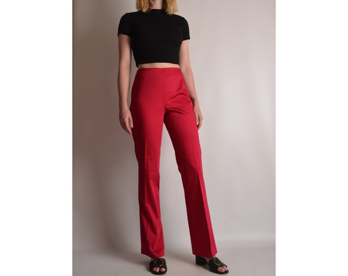 Amazing Y2K's Red Pants (S)