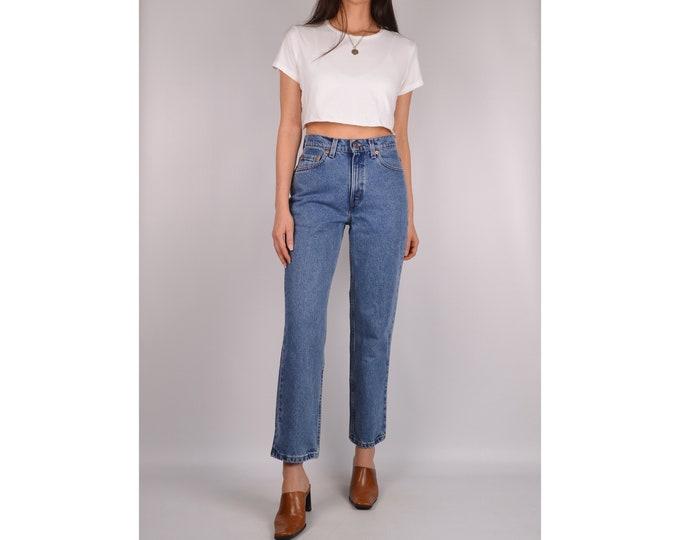 """Flash SALE! Vintage LEVI'S 512 Slim Fit Jeans (27""""W)"""