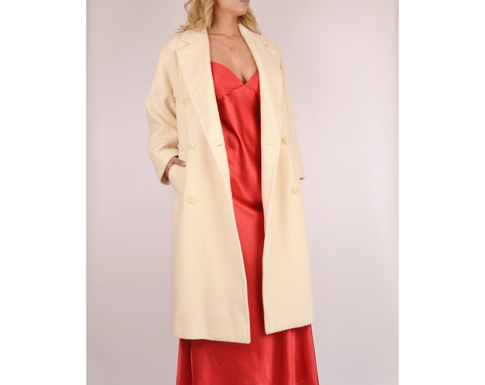 Calvin Klein Wool Coat Winter / M - L