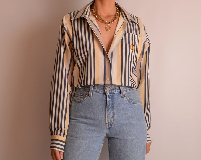 Vintage Cotton Striped Shirt (S-L)