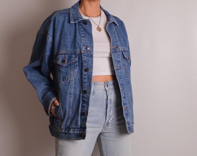 Vintage Oversized Denim Jacket (S-L)