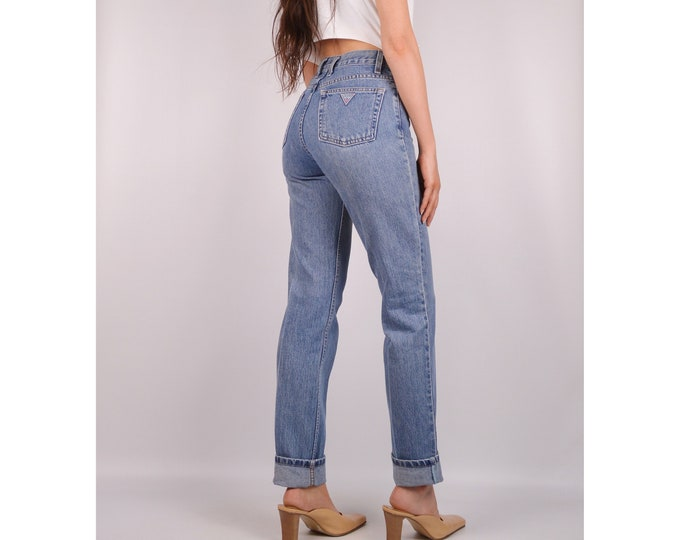 """Flash SALE! Vintage GUESS Jeans (26""""W) Made in USA"""